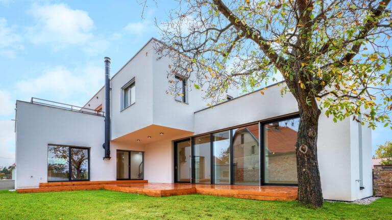 Stavby rodinných domů na klíč Praha