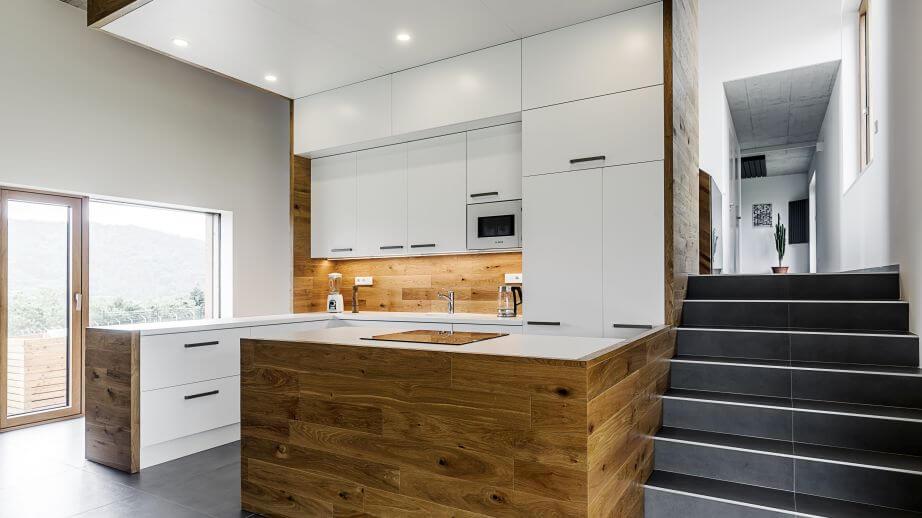 Kuchyně - stavba domu na klíč Chrustenice