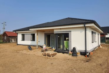 stavba rodinného domu bungalov
