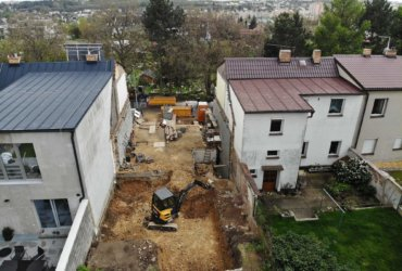 kompletní rekonstrukce řadového domu