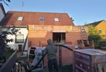 rekonstrukce domu Střední Čechy